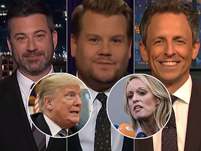 Late-Night Comedians Are SO SORRY They Have to Talk About Trump's Penis 'RUINING' Video Games