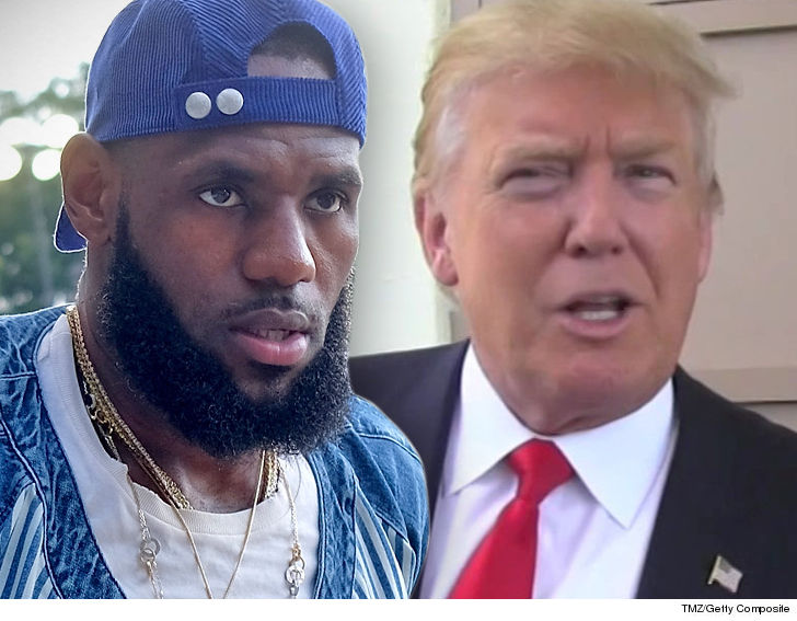 LeBron James Responds To Donald Trump Calling Him 'Stupid'