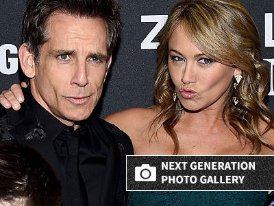 Ben Stiller & Christine Taylor's 16-Year-Old Daughter Joins Him on RARE Red Carpet