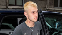 Anwar Hadid Caught With Huge Hickey on His Neck in Milan