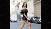 Olivia Culpo Wears Stunning Little Black Dress at Paris Fashion Week