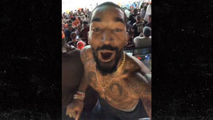 J.R. Smith Rips Off Shirt To Celebrate Browns' First Win Since 2016