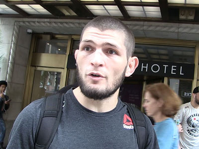 Khabib Hates Conor's Filthy Mouth, 'Think About the Kids!'