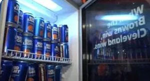 Browns' Win Unlocked Bud Light 'Victory Fridges,' And Cleveland Pandemonium Ensued