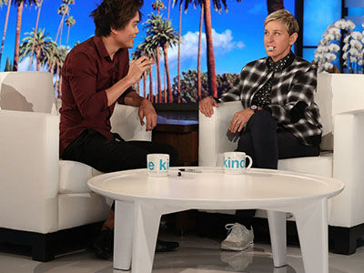 'AGT' Winner Shin Lim Has a NEW TRICK Up His Sleeve for Ellen DeGeneres, and Plans for that Million…
