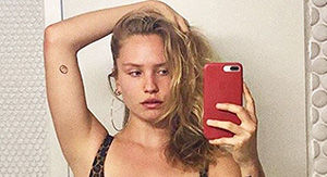 Sailor Brinkley Cook, 20, Shares Sexy Topless Selfie & Fans Say She Looks 'Smokin Hot'