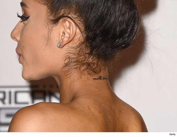 Pete Davidson and Ariana Grande are doomed, because they got matching tattoos.