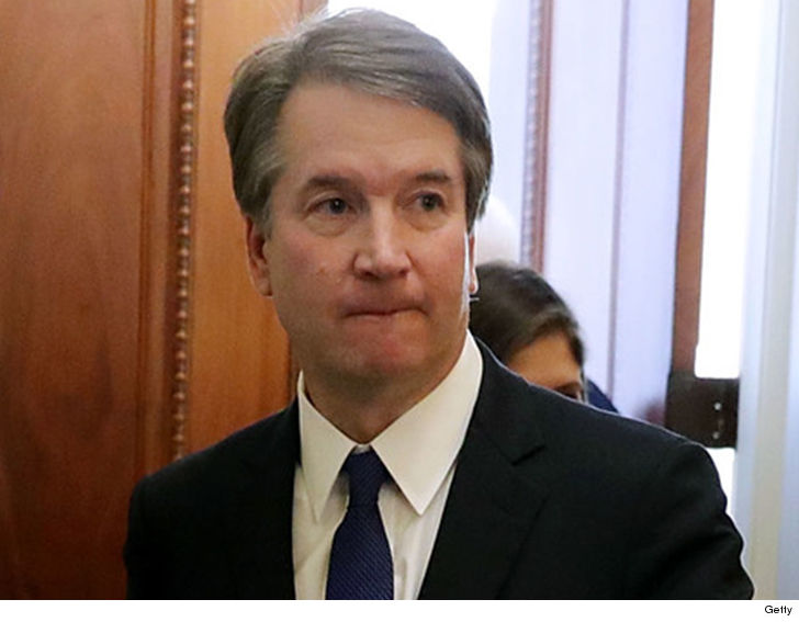 Brett Kavanaugh has a new accuser who says he put his penis in her face in college.