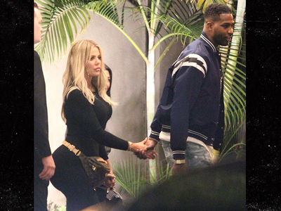 Khloe Kardashian and Tristan Thompson Hold Hands after Bogus Cheating Rumors