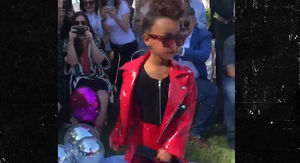 North West Models and Walks Runway in Children's Fashion Show