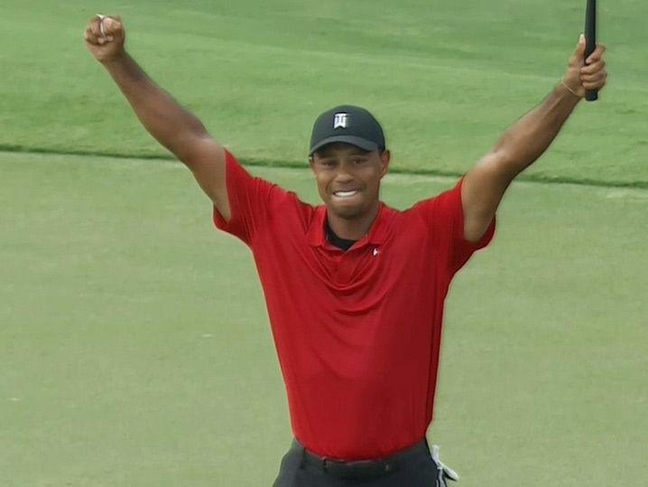 Tiger Woods Wins First Pro Golf Tournament Since 2013