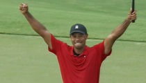 Tiger Woods Wins First Pro Golf Tournament Since 2013