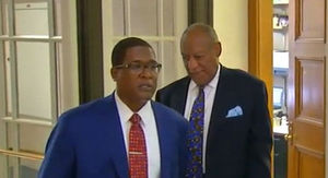 Bill Cosby Arrives to Court, Sentencing Pushed Back to Tomorrow