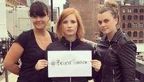 Stars Show Support on Social Media For TimesUp Protest -- #BelieveSurvivors