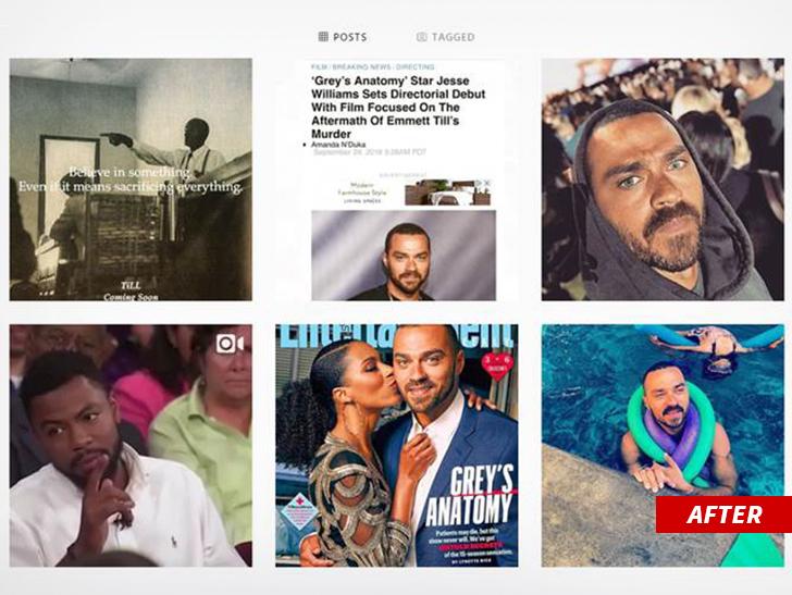 Jesse Williams draws criticism for posting Emmett Till memes featuring Nike's new Kaepernick tagline.
