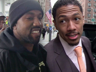 Kanye West and Nick Cannon Squashed Their Beef Over Kim Kardashian