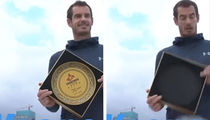 Andy Murray Accidentally Shatters Chinese Gift Plate, 'I'm So Sorry!!'