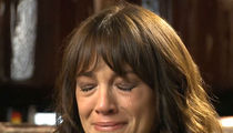 Asia Argento Bursts into Tears Talking About Anthony Bourdain's Suicide
