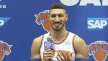 Enes Kanter Says His 'Nipples Get Hard' Thinking About Playoffs
