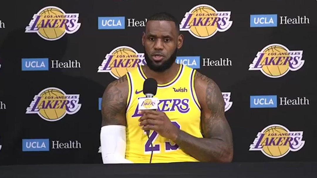 40802d45996bc LeBron James Says He Didn t Join Lakers to Be Closer to Hollywood ...