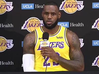 LeBron James Says He Didn't Join Lakers to Be Closer to Hollywood