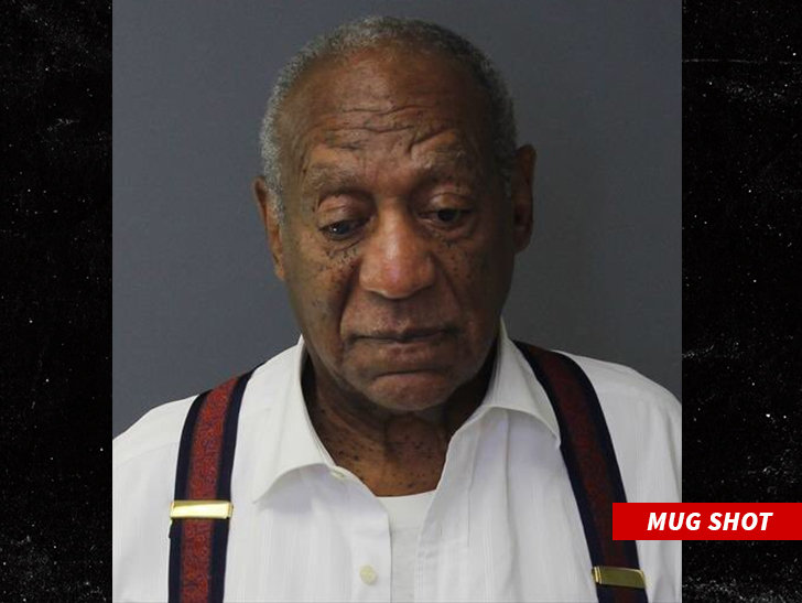 Bill Cosby laughs after receiving prison sentence