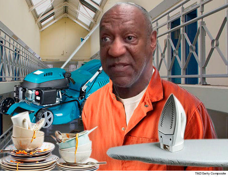Bill Cosby's First Prison Meal Revealed