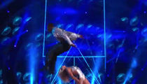 DeMarcus Ware Jumps Over Partner In 'DWTS' Debut