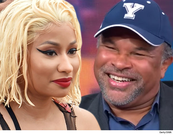 0925 nicki minaj geoffrey owens getty gma 4 - Nicki Minaj Pays 'Cosby' Actor Geoffrey Owens $25k, He Gives it to Charity