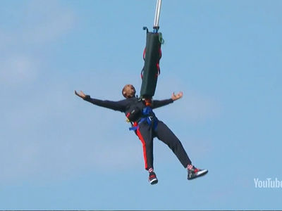 Will Smith's Bungee Jump Not as Spontaneous as it Seemed