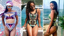 Sexy Shots Of Christina Milian To Celebrate The Birthday #WCW