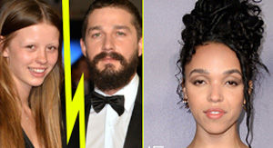 Shia LaBeouf & Mia Goth Split, Rumors Swirl That He's Dating FKA twigs