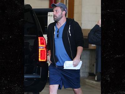 Ben Affleck Takes Studio Meeting During Break from Rehab
