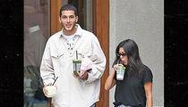 Kourtney Kardashian Spotted With Younes Look-Alike Grabbing Drinks