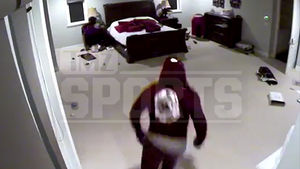 Yasiel Puig's Security Cameras Capture Suspects Rummaging Through Home