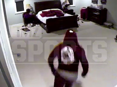 Yasiel Puig Terrifying Burglary Video Shows Scumbags Ransacking Bedroom