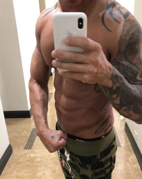 Guess the 'Jersey Shore' ripped bod!