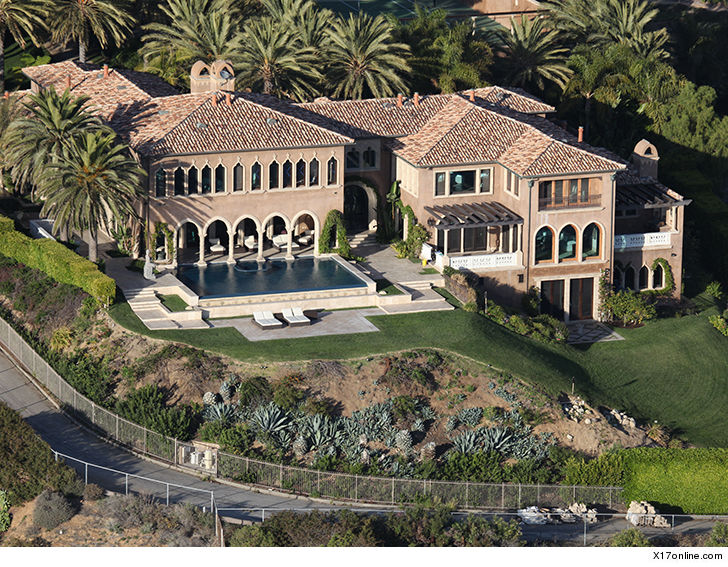 0927 cher house outside x17 3 - Cher's Malibu Home Swarmed by Cops, Son of Assistant Arrested