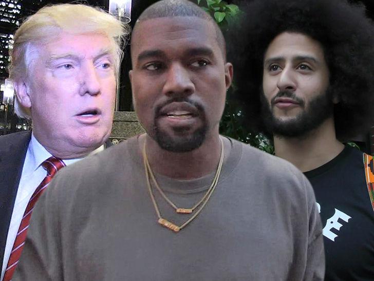 e4db27e9d10 Kanye West Rocks MAGA Hat with Kaepernick Shirt - Celebrity Hours