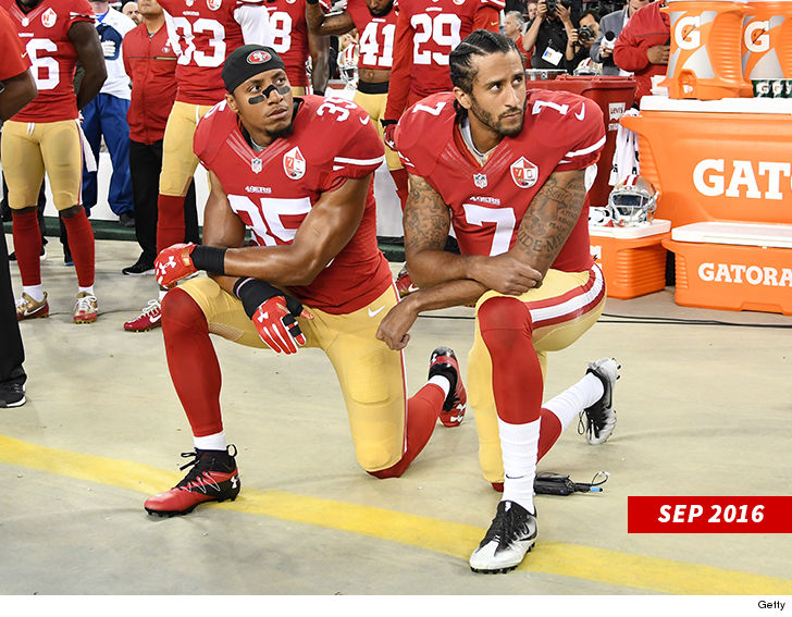 Colin Kaepernick Congratulates Eric Reid, Shoulda Been Signed Sooner!
