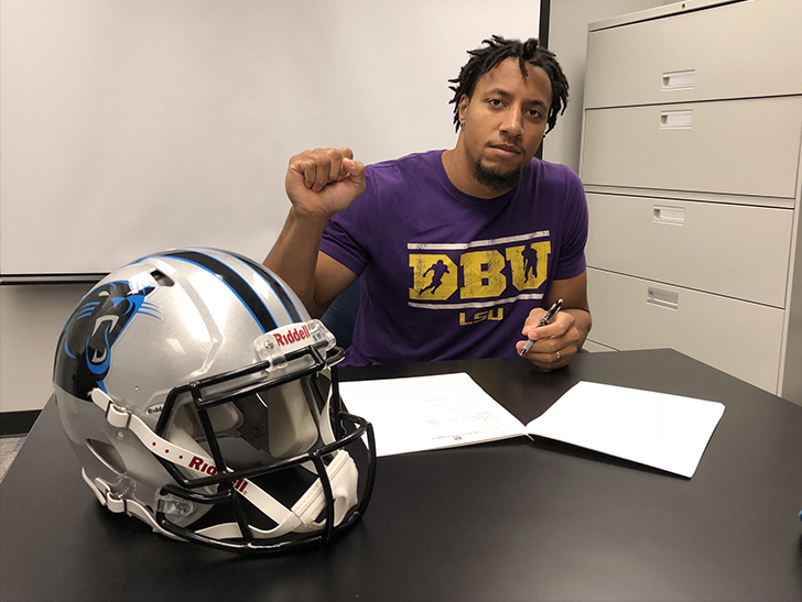 Panthers sign safety Reid
