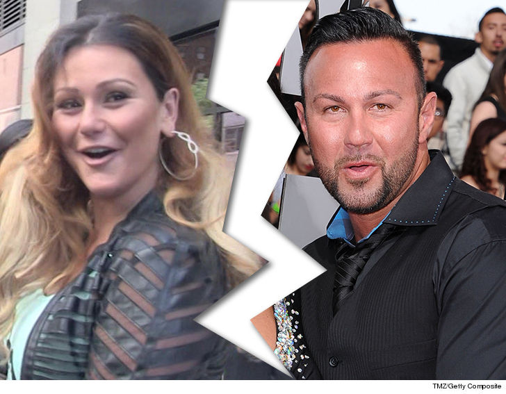 'Jersey Shore' star Jenni 'JWoww' Farley files for divorce
