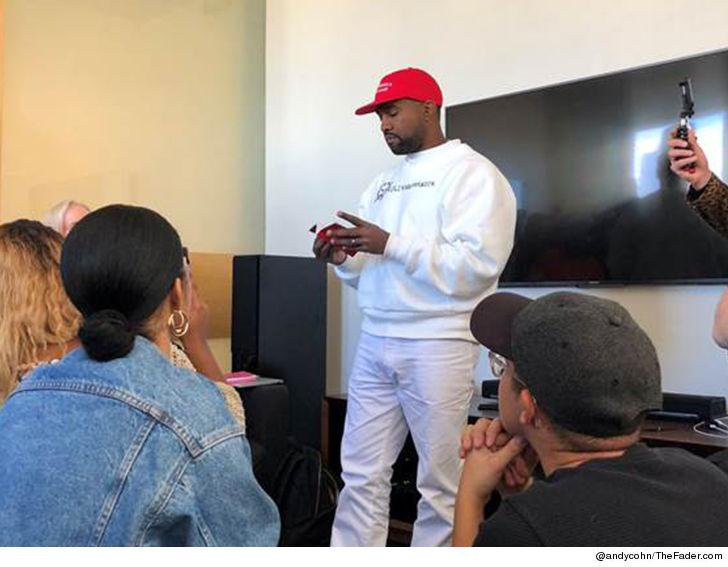 Kanye West Rocks MAGA Hat with Kaepernick Shirt  ce51ced2bd6