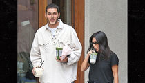 Kourtney Kardashian's Younes Look-Alike Friend Revealed, They're Not Dating