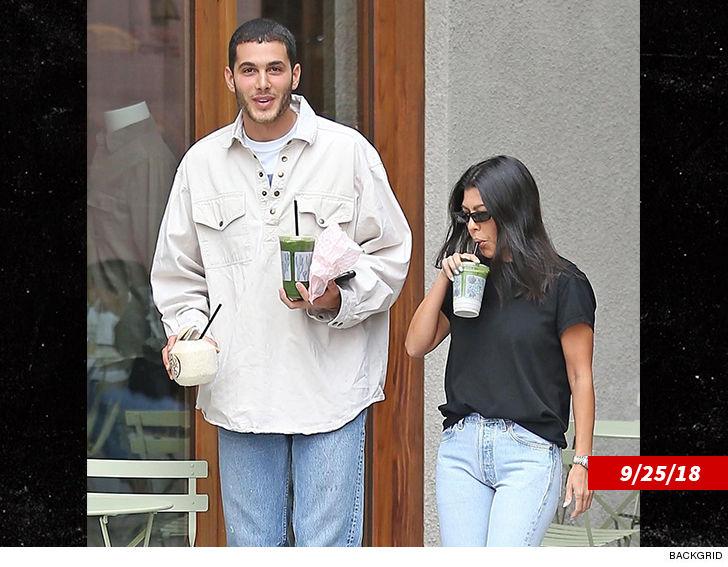 Kourtney Kardashians Younes Look Alike Friend Revealed Theyre Not