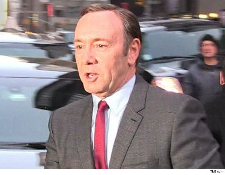 Masseur sues Kevin Spacey for Sexual Battery
