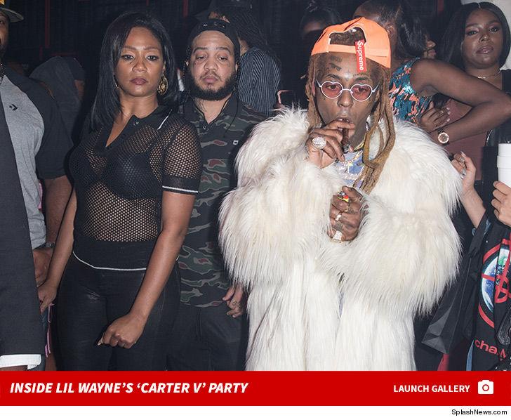 0928 lil wayne carter v party photos launch v2 3 - Tiffany Haddish Hits Up Lil Wayne's Bday Bash After 'Carter V' Drops