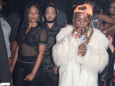 Tiffany Haddish Hits Up Lil Wayne's Bday Bash After 'Carter V' Drops