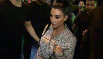 Kim Kardashian West Wearing Outfit Covered In Money Prints