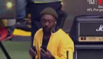 Will.i.am from The Black Eyed Peas Criticized for Checking Phone During Concert